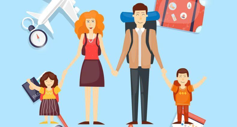 Saiba a importância de viajar com as crianças